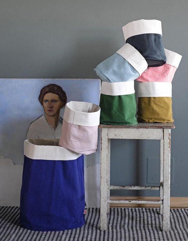 Panier en tissu pour enfant La Cerise sur le Gâteau