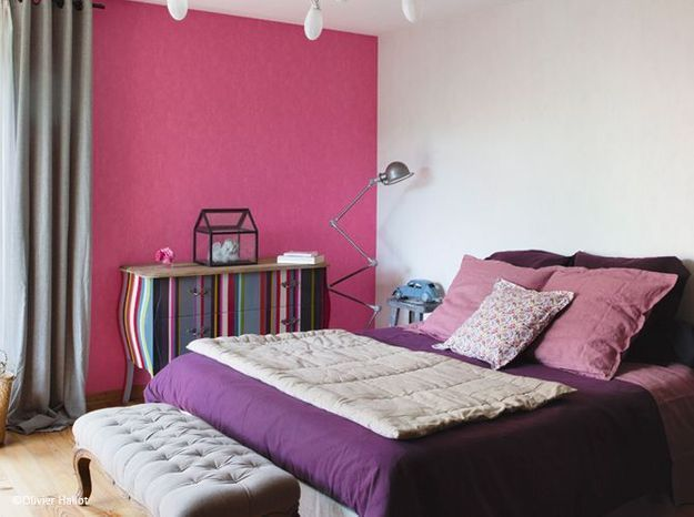 La chambre se refait une beaut elle d coration - Idee de couleur pour une chambre ...