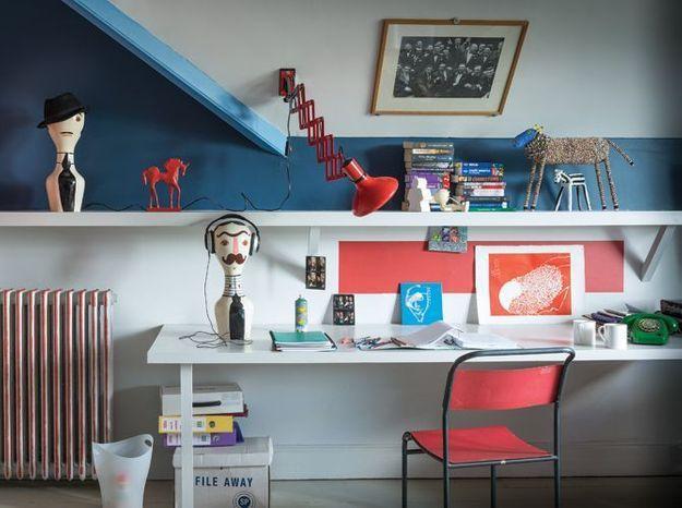 5 façons d\'aménager un coin bureau dans une chambre d\'ado - Elle ...