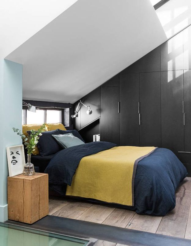 Disposer son lit dans un coin pour une chambre cocooning