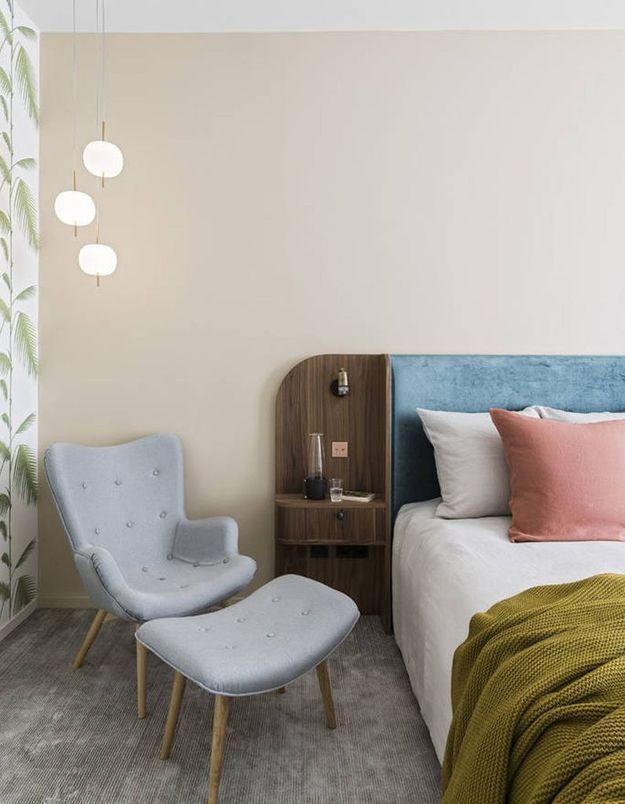 Installer un fauteuil cosy pour une chambre cocooning