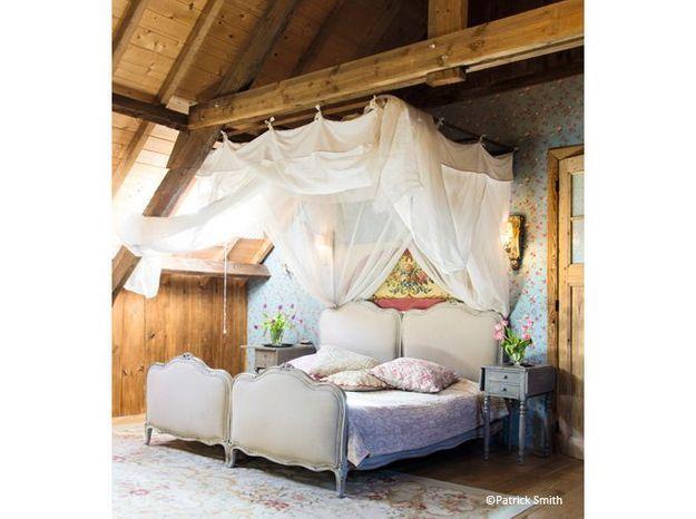 Chambre romantique chalet
