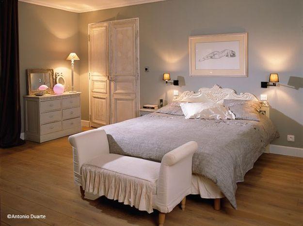 Chambre romantique raffinement