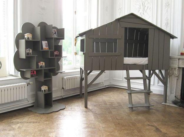Creer Une Cabane Dans Une Chambre D Enfant Elle Decoration
