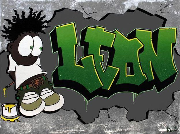 Cadeau original : des tableaux esprit graffiti !