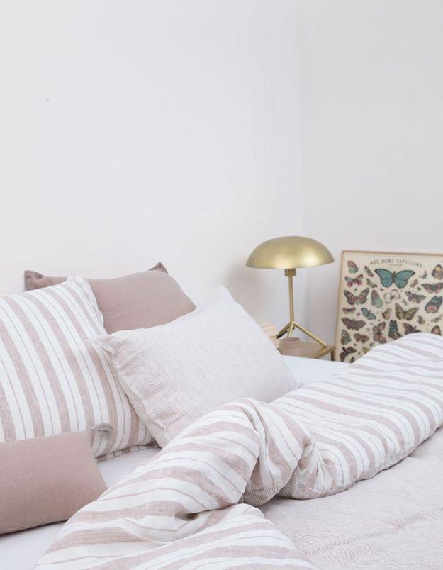 quelle housse de couette en lin finira chez vous elle d coration. Black Bedroom Furniture Sets. Home Design Ideas