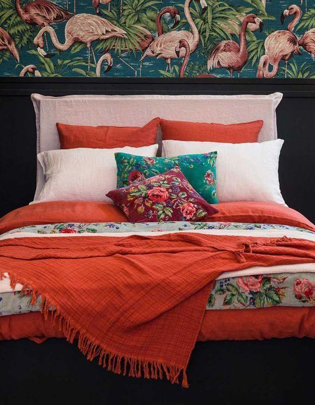 linge de lit en lin on ne s 39 en lassera jamais elle d coration