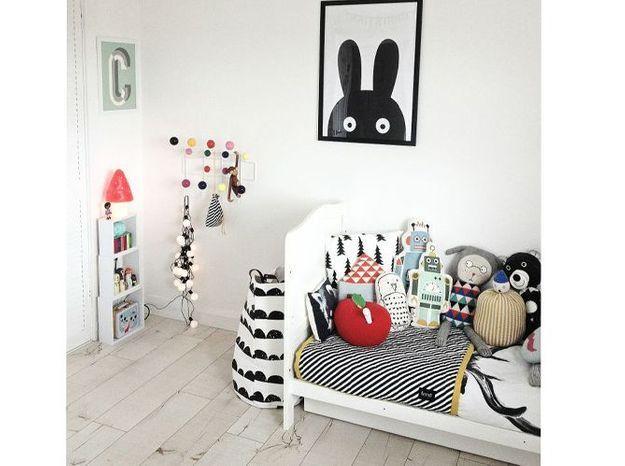 Une chambre d'enfant ludique