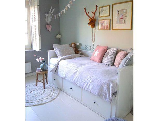 Une chambre d'enfant romantique