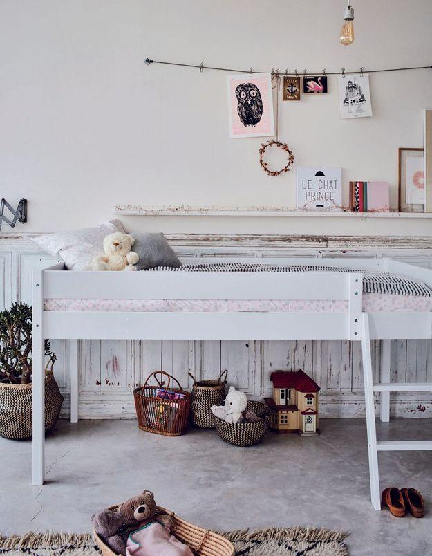 Un lit mezzanine Alinéa