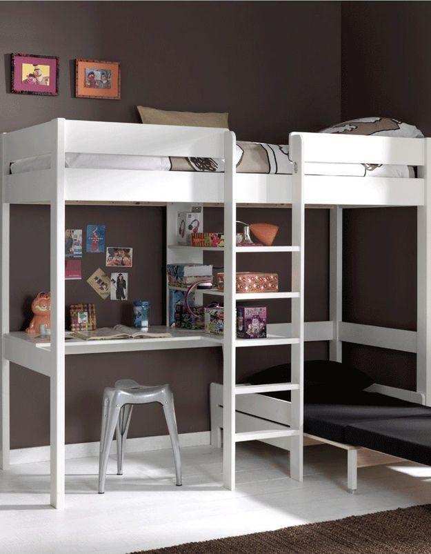 Un lit mezzanine Delamaison