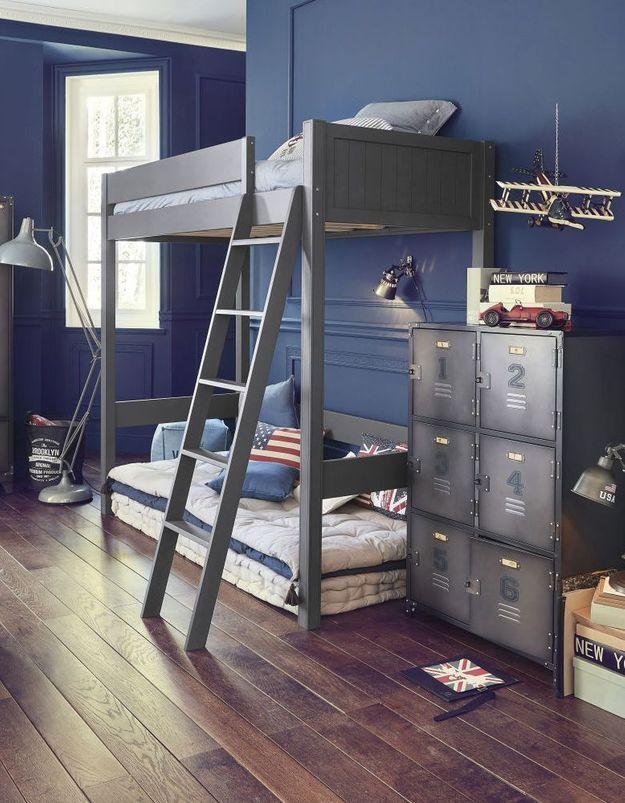 les plus beaux lits mezzanines pour prendre de la hauteur. Black Bedroom Furniture Sets. Home Design Ideas