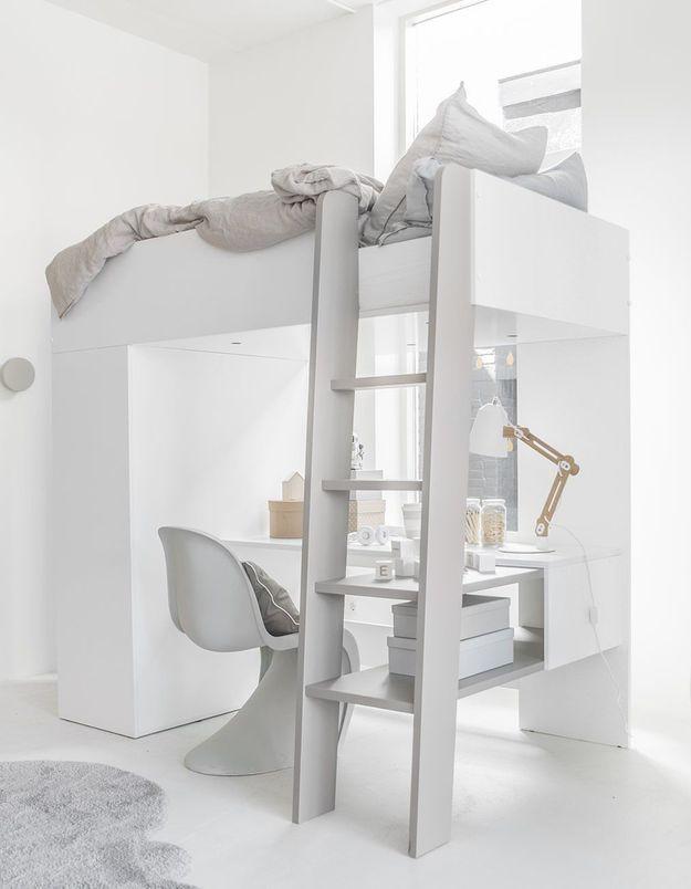 Un lit mezzanine Petite Amélie