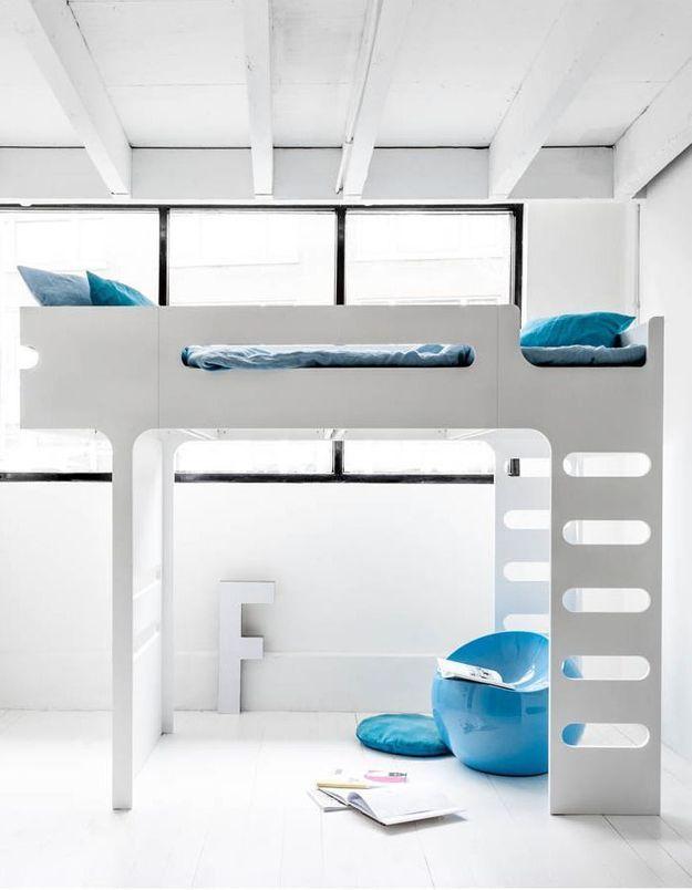Un lit mezzanine Rafa Kids