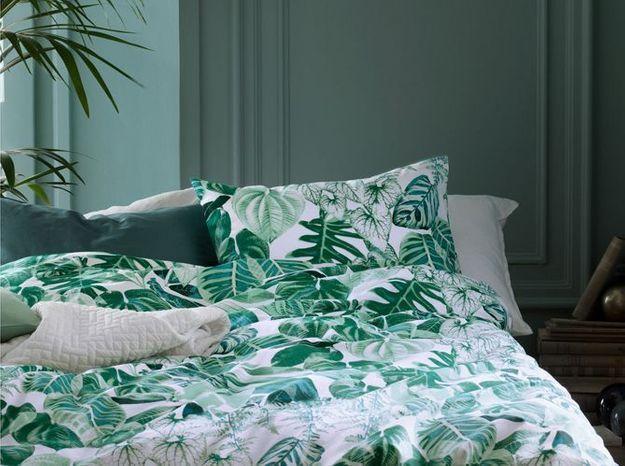 Du linge de lit tropical pour prolonger l'été