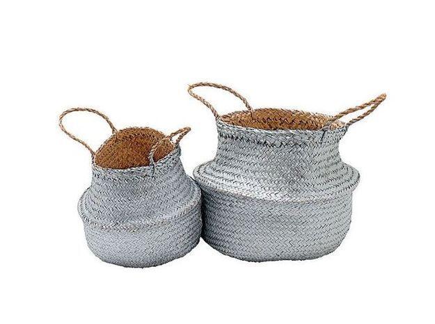 Un panier pour ranger ses foulards ou comme pot à cactus