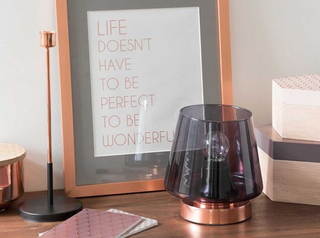 Une lampe à poser design