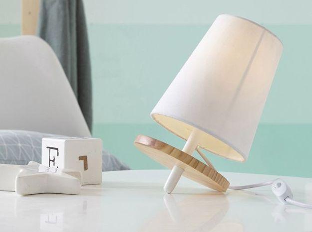 Une lampe de chevet originale