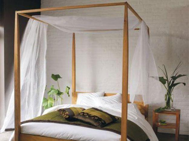 Des ciels de lit et lits baldaquin pour rêver…