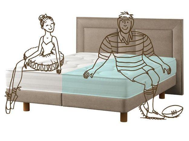 Un lit spécial couples !