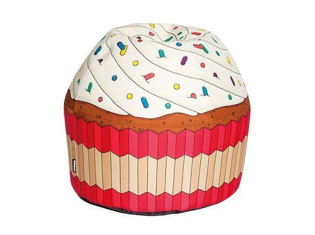 Pouf cupcake woouf