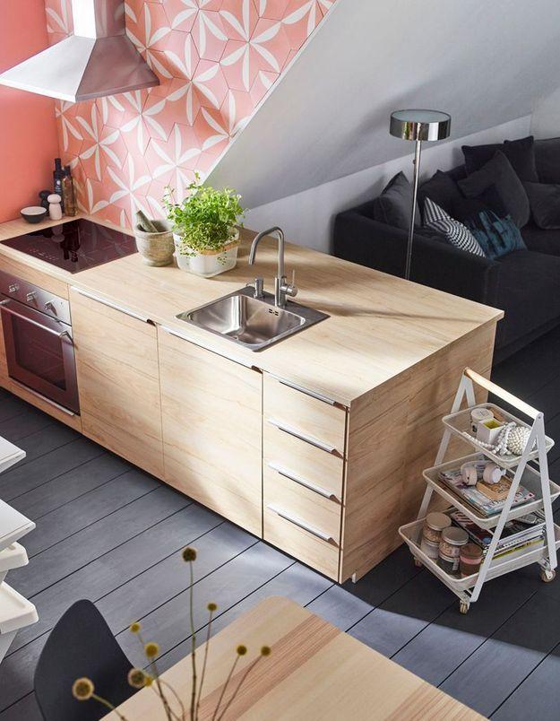 Cuisine Ikea ouverte