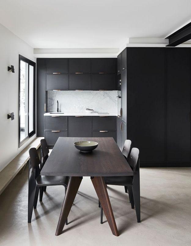 Cuisine noire Humbert & Poyet