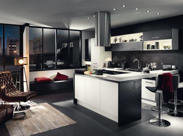Une cuisine design ambiance loft