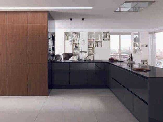 Une cuisine design en L