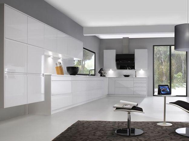 Une cuisine design ultra minimaliste