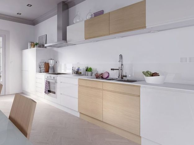 Une cuisine design version ultra épurée