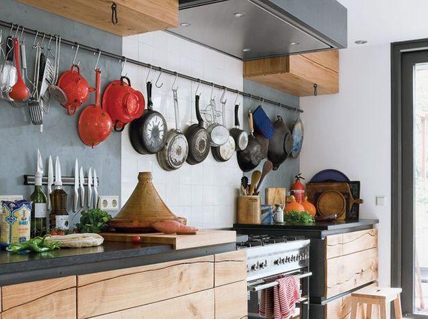 Des ustensiles de cuisine détournés en objets déco
