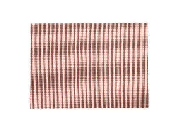 Set table rouge blanc athezza