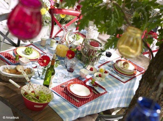 4 Astuces Pour Reussir Sa Deco De Table Champetre Elle Decoration