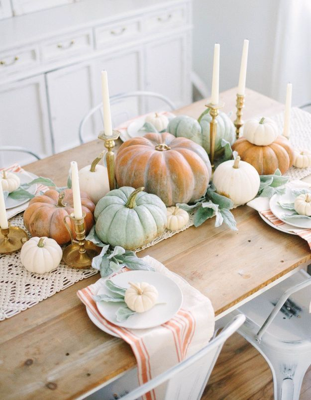 Une déco de table Halloween pastel