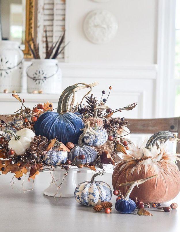 Une déco de table Halloween poétique