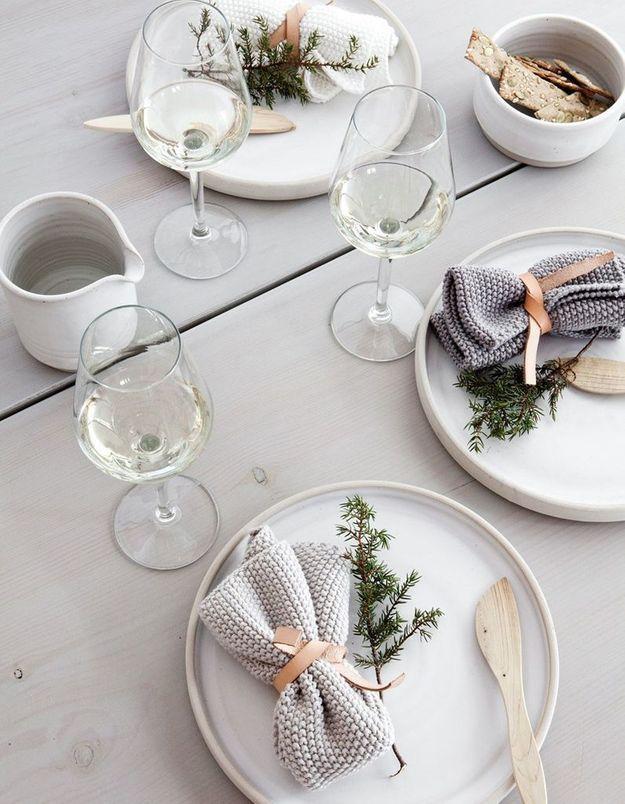 Décoration de table hiver : craquez pour de la vaisselle en céramique