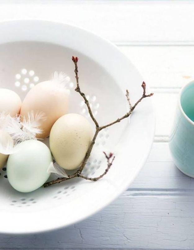 Une déco de table tout en douceur pour Pâques
