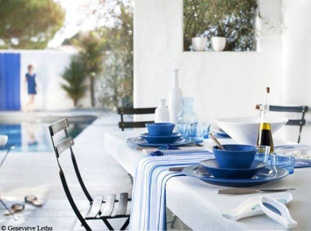 Ajoutez un chemin de table esprit bord de mer