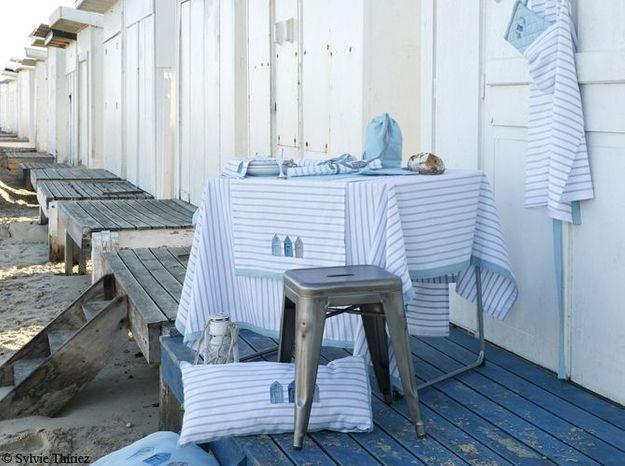 Craquez pour les motifs de cabanes de plage