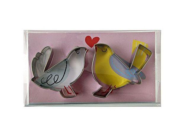 Des emporte-pièces oiseaux