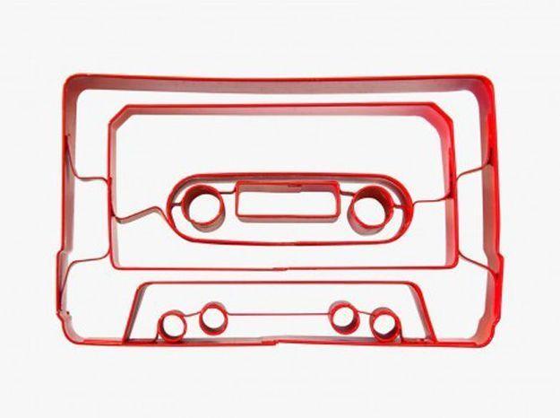 Un emporte-pièce K7 audio