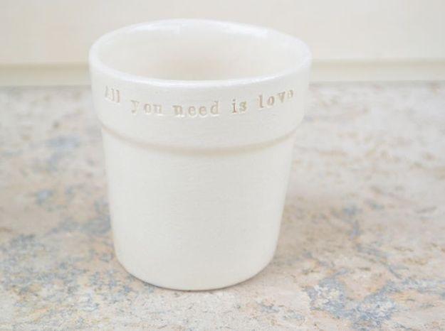 Gobelet ceramique