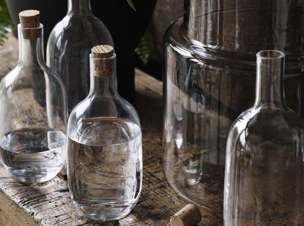 L'objet déco du jour : la bouteille en verre Ikea