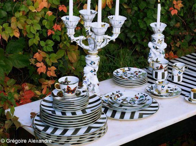 Nouveau : la vaisselle Christian Lacroix Maison