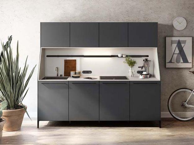 Une petite cuisine compacte
