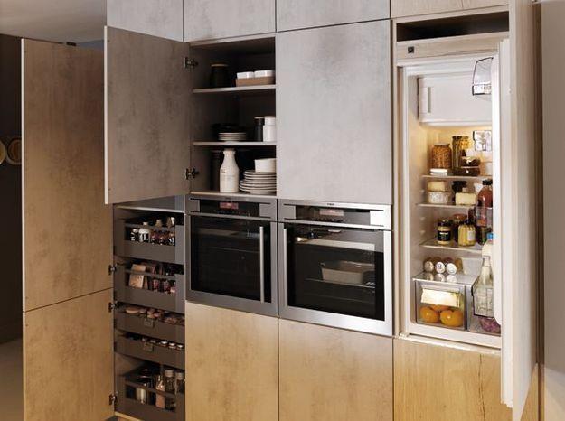 Une petite cuisine élégante