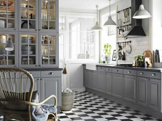 Envie d 39 une cuisine l 39 ancienne elle d coration - Deco cuisine ancienne ...