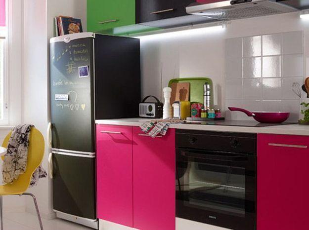 Un réfrigérateur customisé