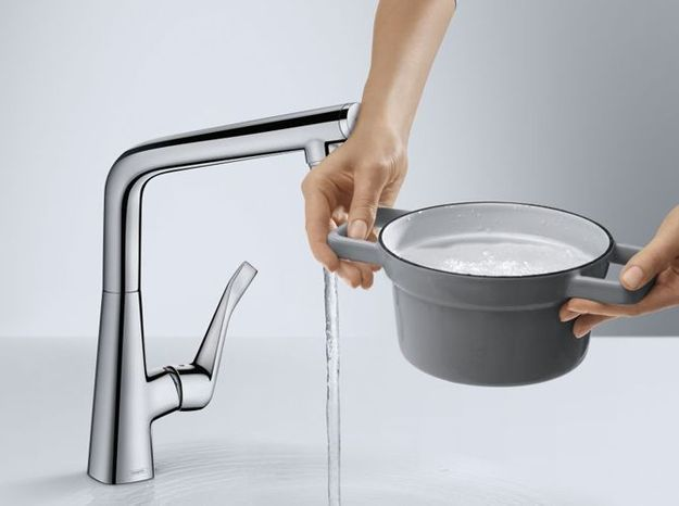 Un robinet super pratique